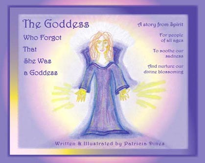 Goddess book, front cover